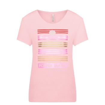 T-Shirt Poivre Blanc 4402 Angel Pink4 Femme