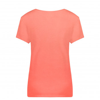 T-Shirt Poivre Blanc 4402 Candy Orange Femme