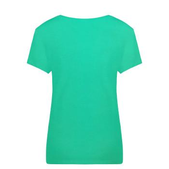 T-Shirt Poivre Blanc 4402 Emerald Green2 Femme