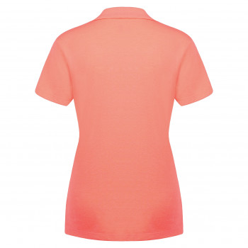 Polo Poivre Blanc 4600 Candy Orange Femme