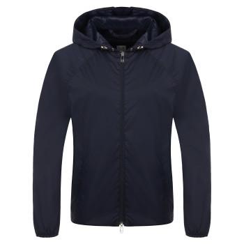 Veste à capuche Poivre Blanc 2302 Oxford Blue Femme