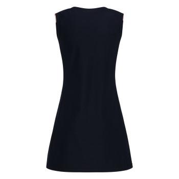 Robe Poivre Blanc 2731 Oxford Blue Femme