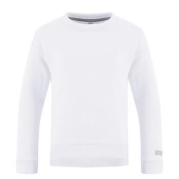 Pull Poivre Blanc 5240 Slub White Fille