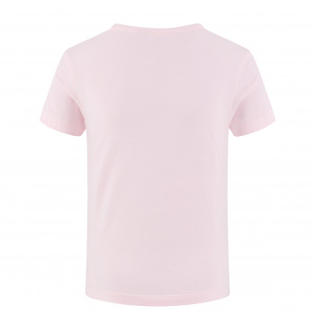 T-shirt Poivre Blanc T-shirt 4402 heart angel pink4 Fille