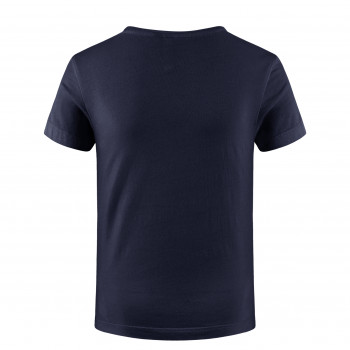 T-shirt Poivre Blanc T-shirt 4402 heart oxford blue Fille