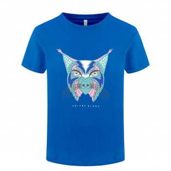 T-shirt Poivre Blanc T-shirt 4402 lynx true blue2 Fille