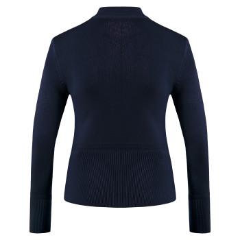 Veste en Maille Poivre Blanc JACKET 6100 oxford blue Fille