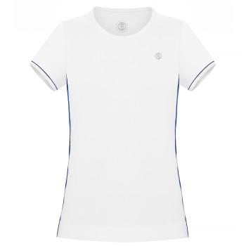 T-shirt en jersey Meryl stretch Poivre Blanc 4803 White Oxford Blue Fille