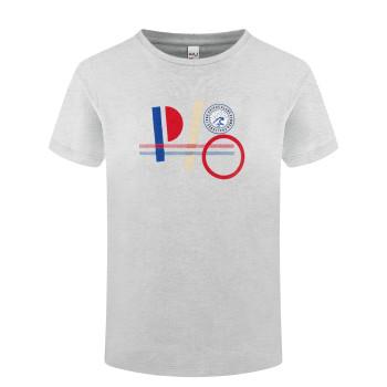 T-shirt Poivre Blanc T-shirt 4410 melange grey Garçon