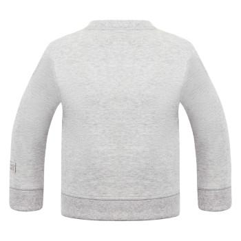 Pull Poivre Blanc 5240 Melange Grey Fille