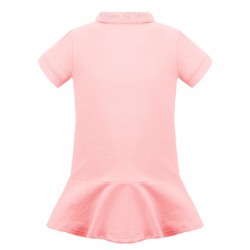 Robe Polo Poivre Blanc 4631 Angel Pink4 Fille