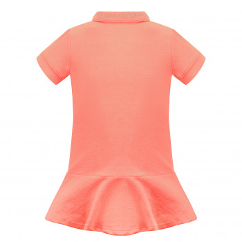 Robe Polo Poivre Blanc 4631 Candy Orange Fille