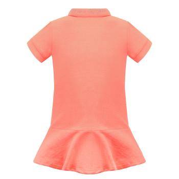 Robe Polo Poivre Blanc 4631 Candy Orange Fille