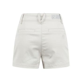 Short stretch en coton biologique Poivre Blanc 2628 Moon Grey Fille