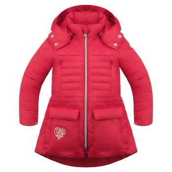 Veste Poivre Blanc COAT 1251 scarlet red4 Fille