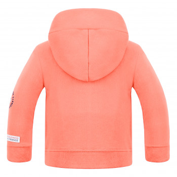 Veste à capuche Poivre Blanc 5210 Candy Orange Garçon