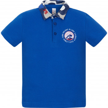 Polo Poivre Blanc 4610 True Blue2 Garçon