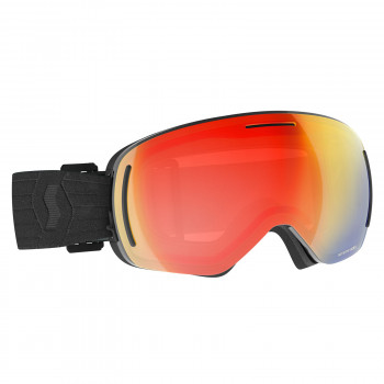 Masque de Ski / Snow Scott LCG Evo black / enhancer red chrome