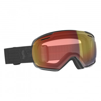 Masque de Ski / Snow Scott Linx Light Sensitive black / light sensitive red chrome