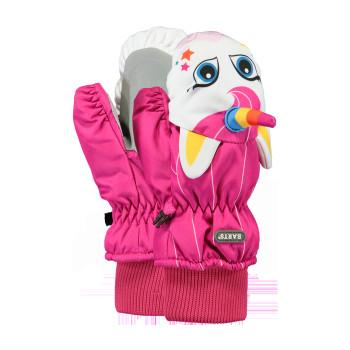 Gants de Ski Barts Nylon Mitts 3D Enfant Rose-T2