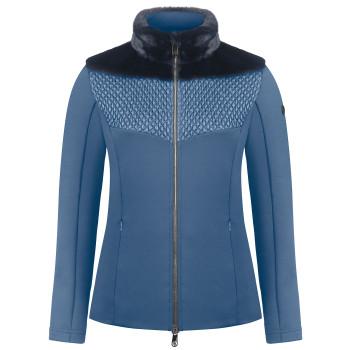 Veste en Polaire Poivre Blanc HybridStretchFleeceJacket 1600 multico blue Femme