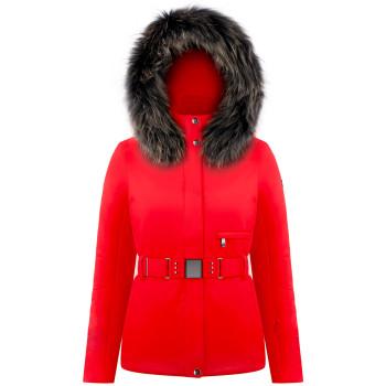 Veste De Ski Poivre Blanc 0801 Scarlet Red 5 Femme