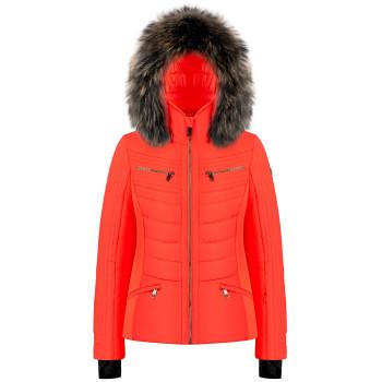 Veste De Ski Poivre Blanc 1002 Lava Orange Femme