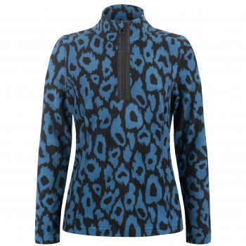 Pull Polaire Poivre Blanc FleeceSweater 1540 panther blue Femme