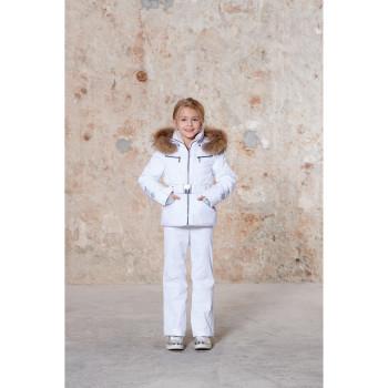 Veste De Ski Poivre Blanc 1002 Fancy White Fille