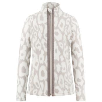 Veste Polaire Poivre Blanc FleeceJacket 1500 panther grey Fille