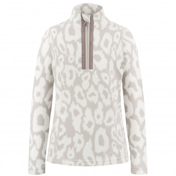 Pull Polaire Poivre Blanc FleeceSweater 1540 panther grey Fille