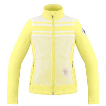 Veste Polaire Poivre Blanc HybridFleeceJacket 1605 multico yellow Fille