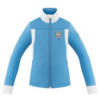 Veste Polaire Poivre Blanc StretchFleeceJacket 1701 multico polar blue Fille