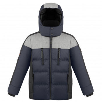Veste de Ski Poivre Blanc Synthetic Down Jacket 1215 multico gothic blue Garçon