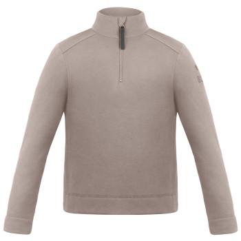 Pull Polaire Poivre Blanc FleeceSweater 1550 rock brown Garçon