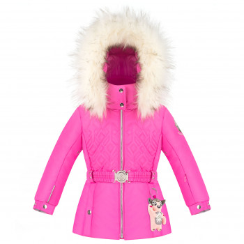 Veste de Ski/Snow Poivre Blanc SkiJacket 1003 rubis pink Fille