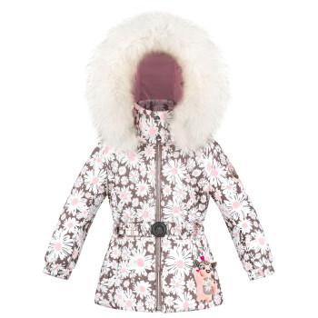 Veste De Ski Poivre Blanc 1003 Daisy Pink Fille