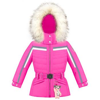 Veste de Ski/Snow Poivre Blanc SkiJacket 1002 rubis pink Fille