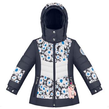 Veste de Ski/Snow Poivre Blanc SkiJacket 1004 multico daisy blue Fille