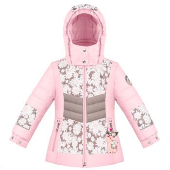 Veste de Ski/Snow Poivre Blanc SkiJacket 1004 multico daisy pink Fille