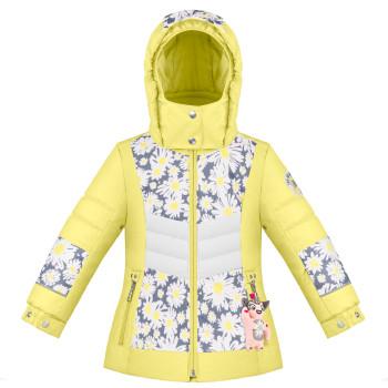 Veste de Ski/Snow Poivre Blanc SkiJacket 1004 multico daisy yellow Fille