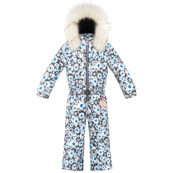 Combinaison de Ski Poivre Blanc SkiOverall 1030 daisy blue Fille