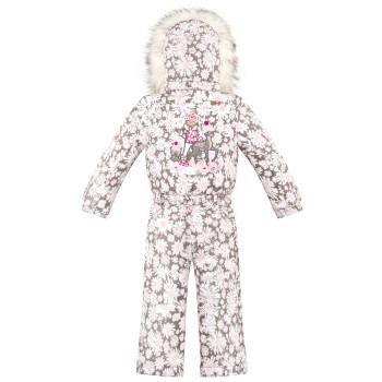Combinaison de Ski Poivre Blanc SkiOverall 1030 daisy pink Fille