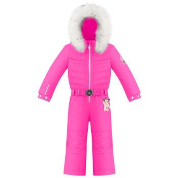 Combinaison de Ski Poivre Blanc SkiOverall 1030 rubis pink Fille