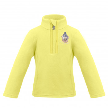 Pull Polaire Poivre Blanc FleeceSweater 1540 aurora yellow Fille