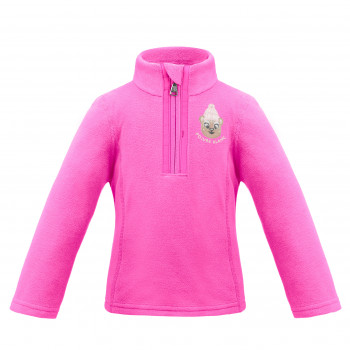 Pull Polaire Poivre Blanc FleeceSweater 1540 rubis pink Fille