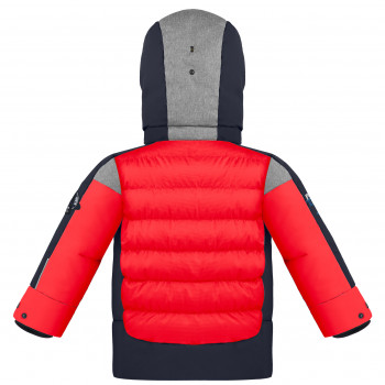 Veste de Ski Poivre Blanc Synthetic Down Jacket 1215 multico scarlet red Garçon