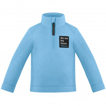 Pull Polaire Poivre Blanc Fleece Sweater 1550 artic blue Garçon