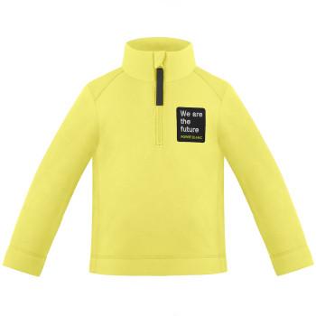 Pull Polaire Poivre Blanc FleeceSweater 1550 aurora yellow Garçon