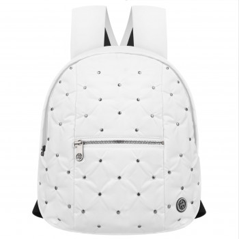 Sac a dos Poivre Blanc Back Bag 9097 rivet white Femme